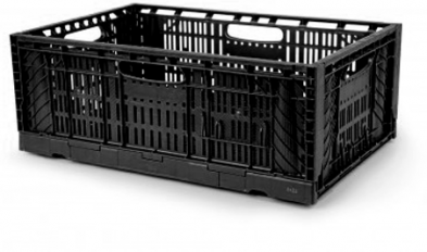 Foldable crate F6423