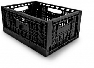 Foldable crate F3416